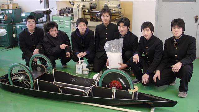 渋川工業高校のみなさん